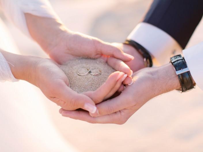 photo mariage mer