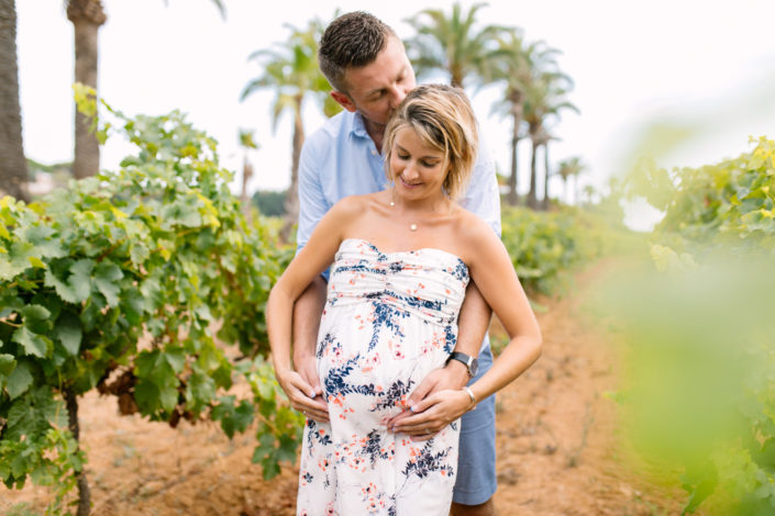 seance grossesse vignes