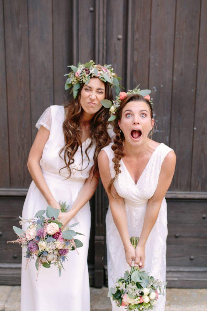 mariage deux femmes
