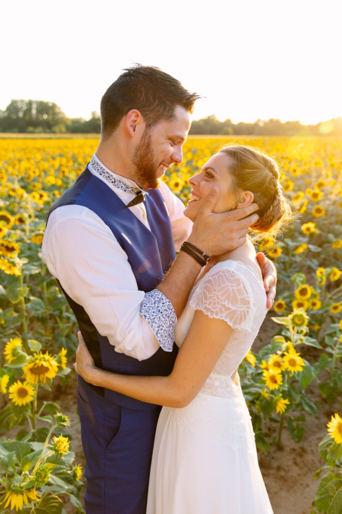 photo mariage tournesol