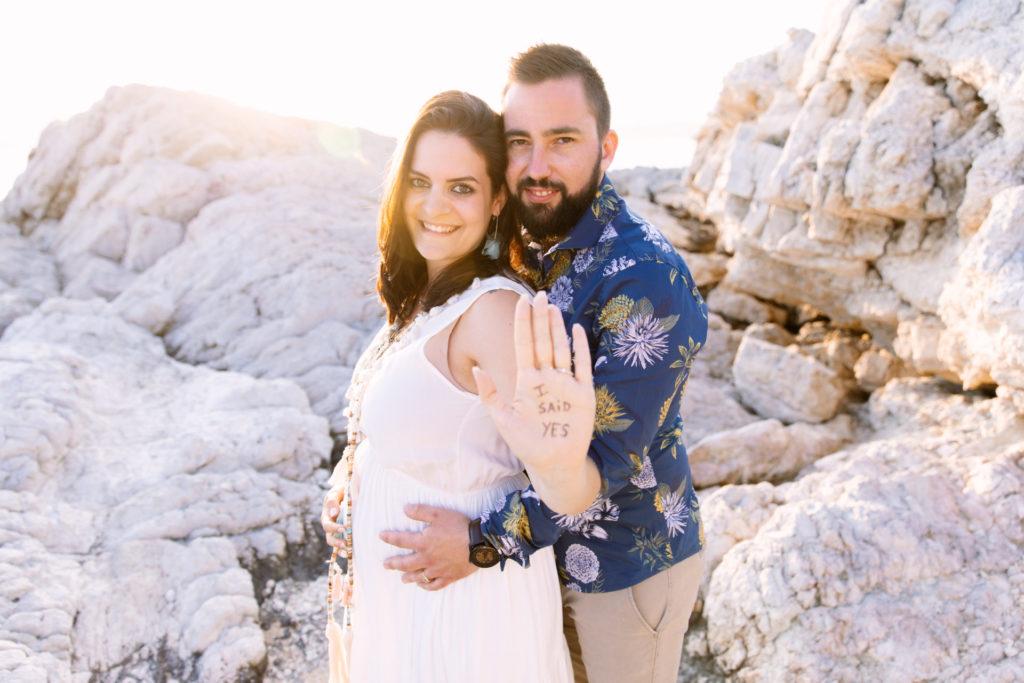 shooting demande en mariage